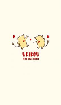 URIBOU - WILD BOAR PIGLET #DANCE 画像(1)