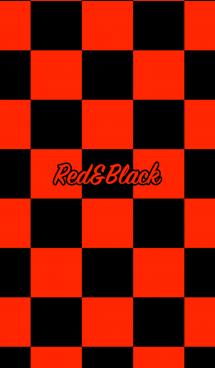 シンプル 赤と黒 ロゴ無し No.5 画像(1)