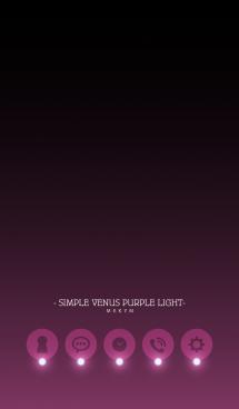 - SIMPLE VENUS PURPLE LIGHT - 画像(1)