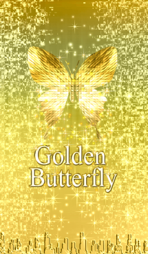 金運*キラキラ♪黄金の蝶#19-1 画像(1)