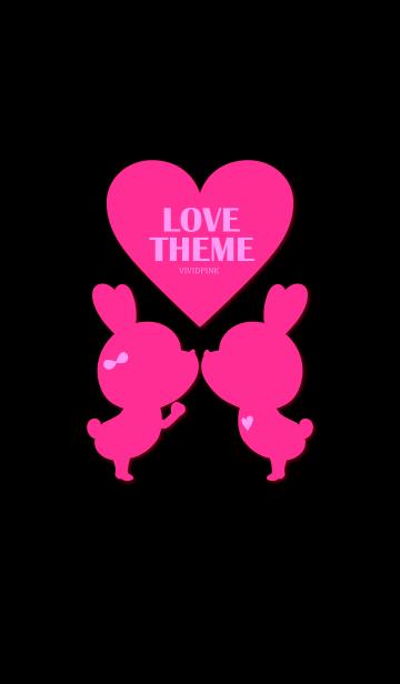 LOVE THEME VIVIDPINK  | LINE着せかえ | 360円