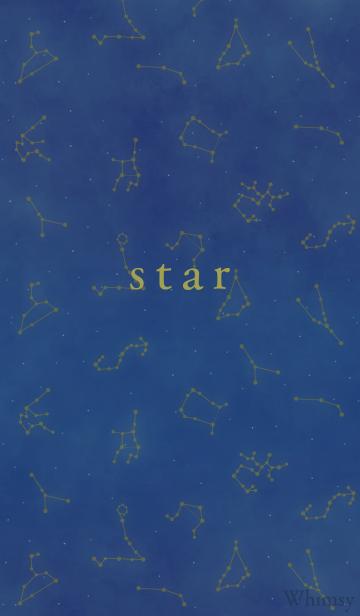 星座柄の画像(表紙)