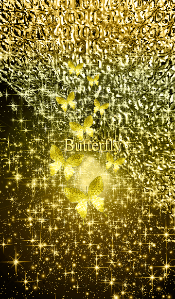 [LINE着せかえ] 幸運を呼び込む八蝶*22の画像
