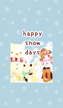 Happy snow days 画像(1)