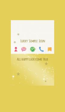ゴールド / 水彩 ラッキーシンプル 画像(1)