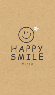 HAPPY SMILE KRAFT 8 -STAR-