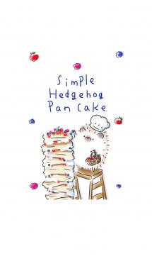 シンプル はりねずみ パンケーキ