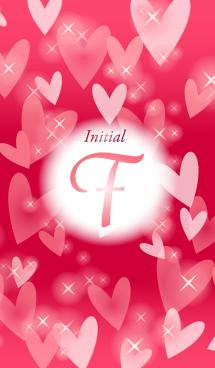 【F】イニシャル❤️ハート-赤2-