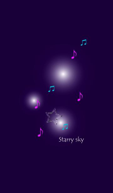 [LINE着せかえ] Starry Starry Sky Blue fantasyの画像