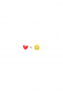 クレヨン&ハート+スマイル 画像(1)