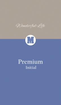 Premium Initial M.