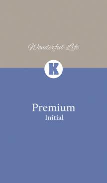 Premium Initial K.
