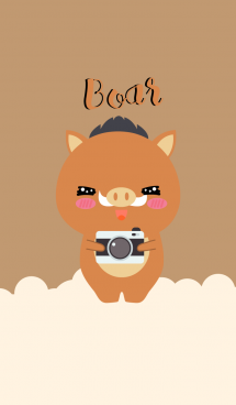 Simple Cute Boar V.2 (jp)