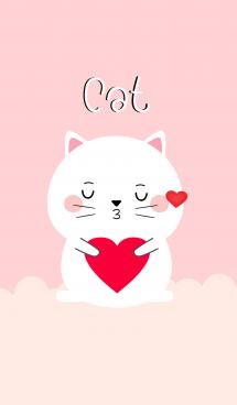 Simple Lovely White Cat (jp) 画像(1)