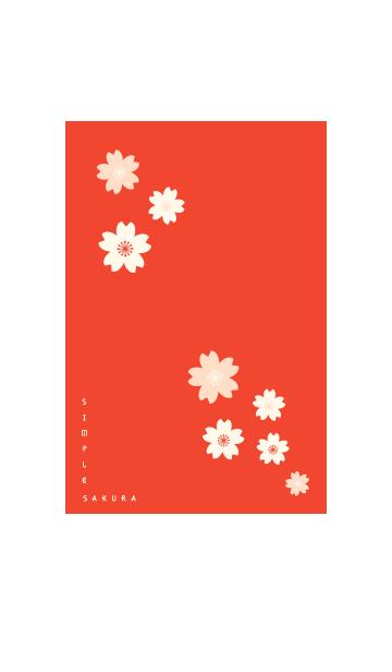 SIMPLE SAKURA -kurenai-の画像(表紙)