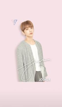 SEVENTEEN 着せかえ JOSHUA ジョシュア 画像(1)