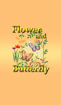 ー花と蝶ー 画像(1)