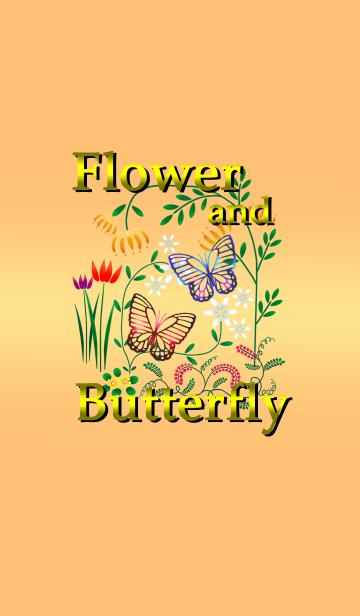 ー花と蝶ーの画像(表紙)