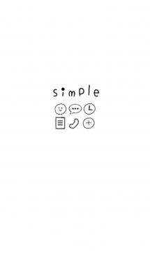 シンプル ブラック×レッド 画像(1)