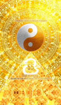 最強最高金運風水 白蛇と黄金の幸運数 55 画像(1)
