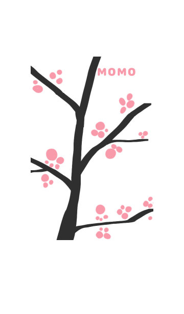桃の花の画像(表紙)