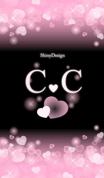 C&C イニシャル 運気UP!ピンクハートの画像(表紙)