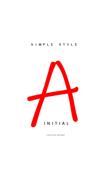 Simply Style Initial【A】の画像(表紙)