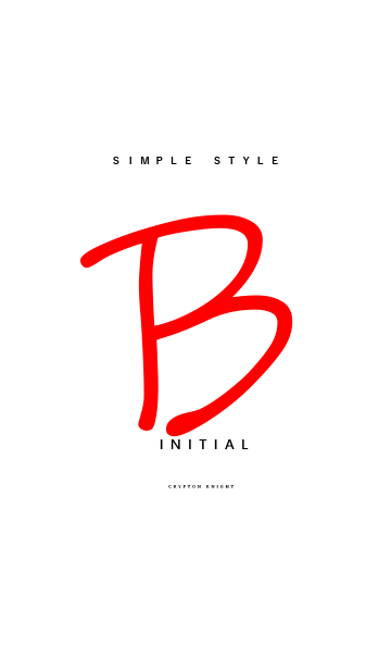 Simply Style Initial【B】の画像(表紙)