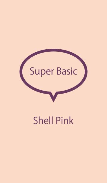 Super Basic Shell Pinkの画像(表紙)