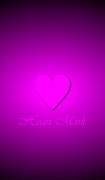 Heart Mark *Vivid Pink Purple*の画像(表紙)