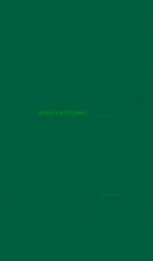 シンプル ライン 0.5 グリーン 画像(1)