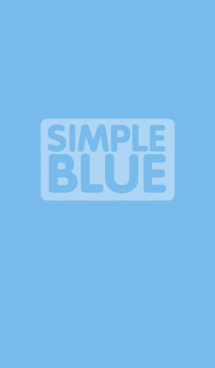 Simple Blue Theme Vr1 (jp) 画像(1)