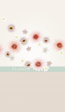 花/ベージュ16 画像(1)
