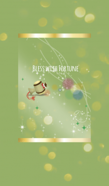 黄緑 / 福と運を生む打ち出の小槌 画像(1)