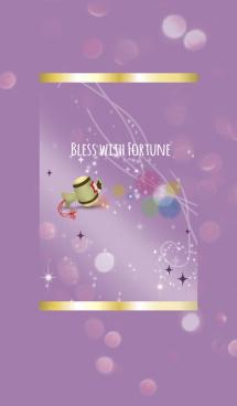 紫 パープル / 福と運を生む打ち出の小槌 画像(1)