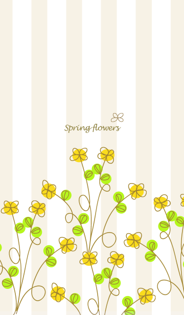 [LINE着せかえ] artwork_Spring flowersの画像
