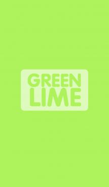 Simple Lime Green Theme (jp) 画像(1)