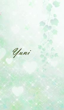 No.1102 ゆに♥LOVE♥恋愛運上昇♥緑 画像(1)
