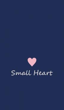Small Heart *Navy+Pink 2* 画像(1)