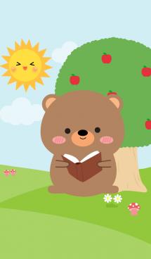 Lovely Bear in nature Theme (jp) 画像(1)