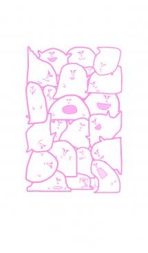 ピンク色の変な奴の着せかえ 画像(1)