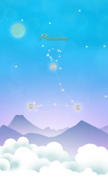 魚座の星夜空