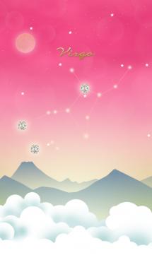 乙女座の星夜空 画像(1)