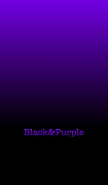 シンプル 紫と黒 ロゴ無し No.6 画像(1)