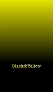 シンプル 黄色と黒 ロゴ無し No.6 画像(1)