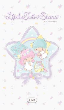 リトルツインスターズ(リボンと星の花)