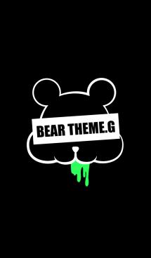 DARK BEAR.GREEN&BLACK 画像(1)