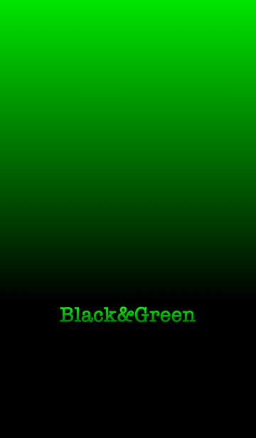 シンプル 緑と黒 ロゴ無し No.6-2の画像(表紙)