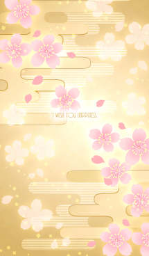 【運気アップ】大人かわいい♡和柄・桜 画像(1)