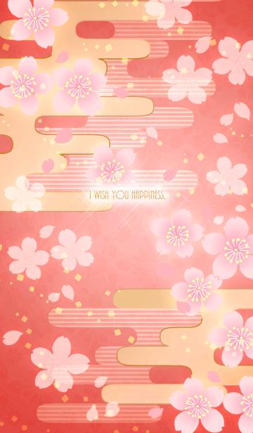 【運気アップ】大人かわいい♡和柄・桜2の画像(表紙)